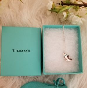 TIFFANY & Co. Silver Leaf Necklace
